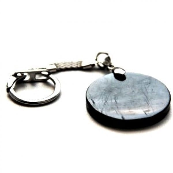 "Shungite keychain ""Circle"""