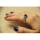 "Shungite ring ""Legend"""