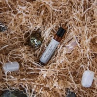 Sweet and Calming Shungite Water Roll-on with Sandalwood, Jasmine and Vanilla