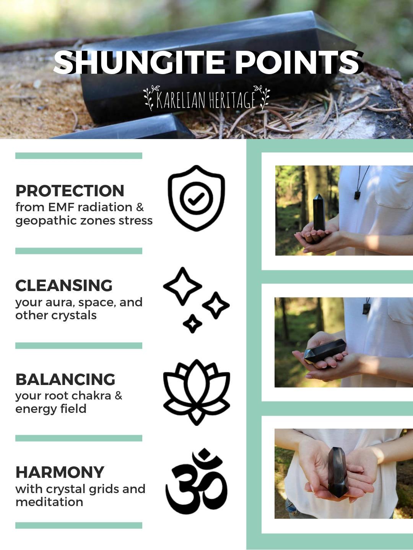shungite-points-for-energy-healing